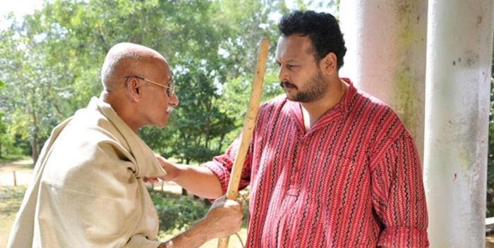 Its not easy being Gandhi.