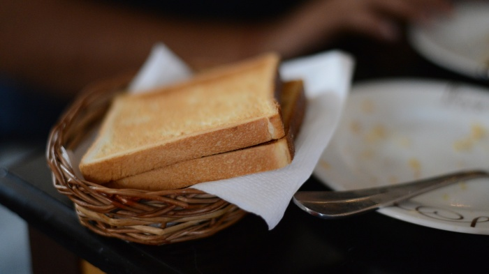 The simple joys of well toasted bread.