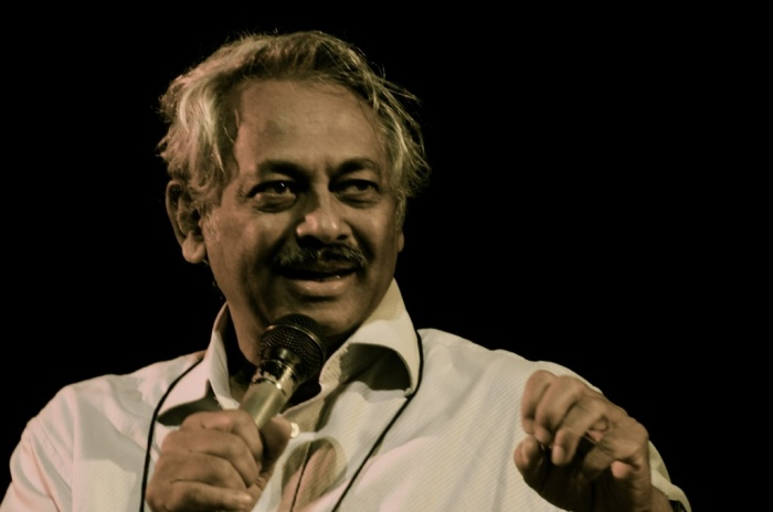Dr. Girish Kasaravalli makes his cinema speak for itself.