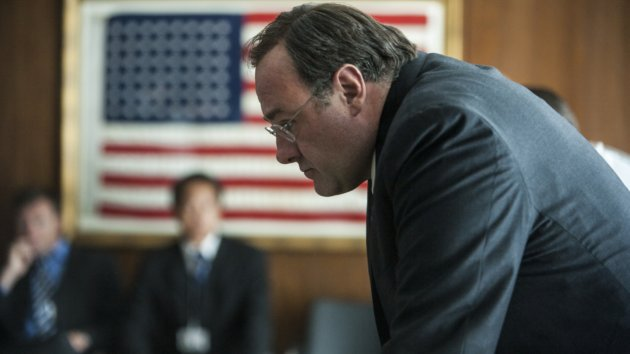 James Gandolphini plays CIA director Leon Panetta