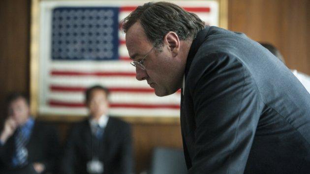 James Gandolphini plays CIA director Leon Panetta