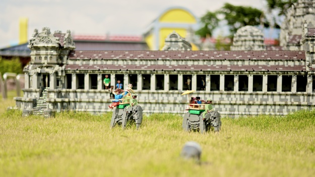 A sunny afternoon in Angkor Wat