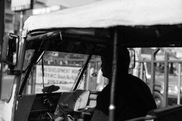 Most Auto rickshaws are driven by Dadas..which means both brother and goon.The foot soldiers of our fragile democracy.