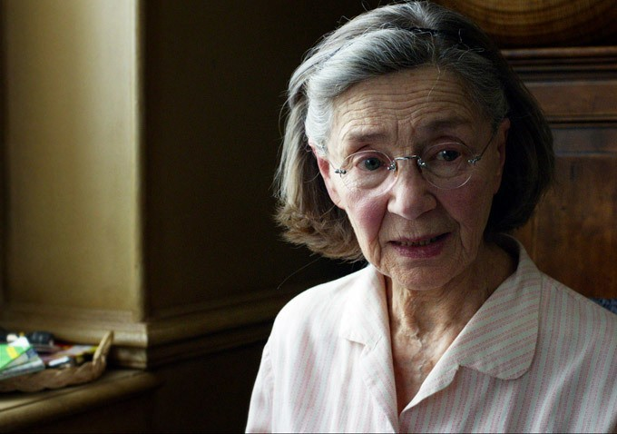 Emmanuelle Riva is Anne,in the twilight of her life.