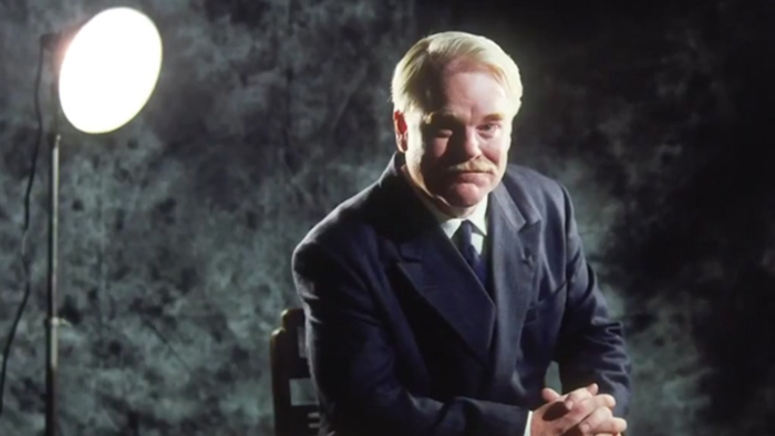 The Masters, Phillip Seymour Hoffaman is Lancaster Dodd is L.Ron Hubbard.
