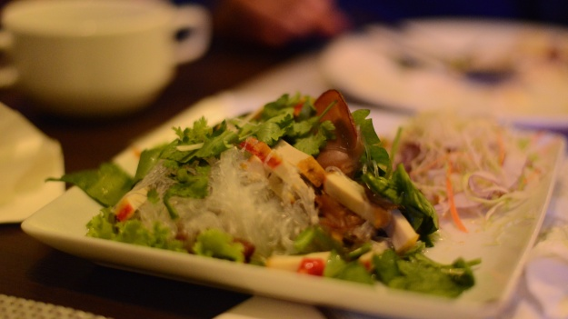 Thai flavours and textures.