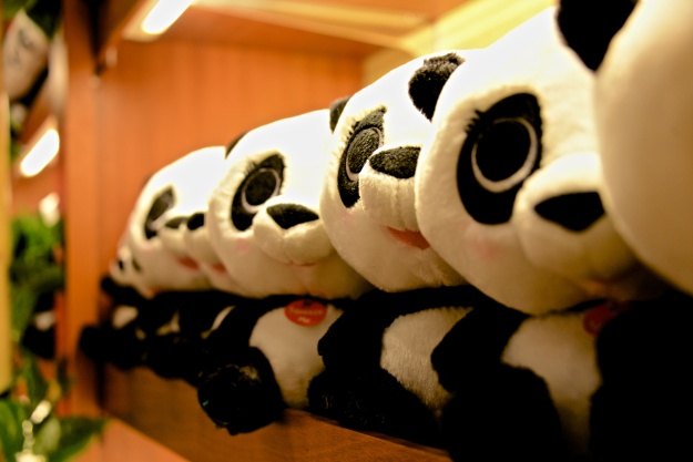 The Pandas have their own store.