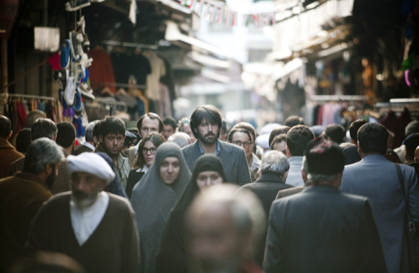 Even in Iran Mr Affleck stand  head and shoulders above the rest.
