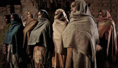 The faces of these women tell the story of centuries of oppression.