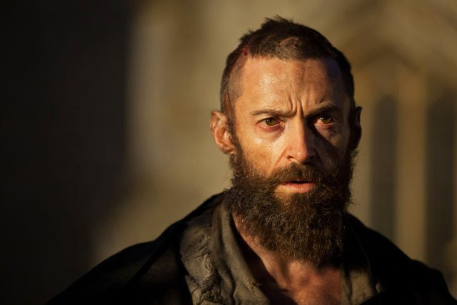 Hugh Jackman plays Jean Valjean a hero and a saint