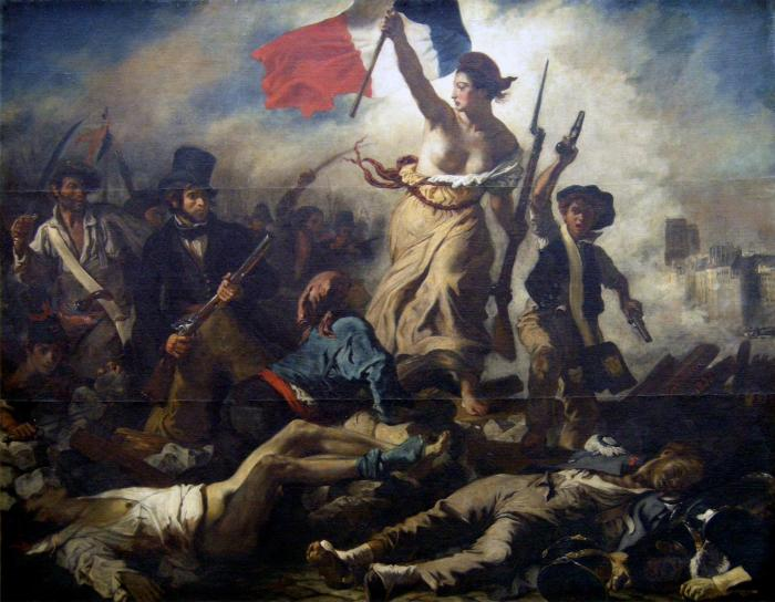 The painting that continues to inspire revolutions.