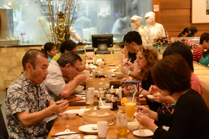 Eating is a serious business in Singapore in general and at Din Tai Fung in particular.