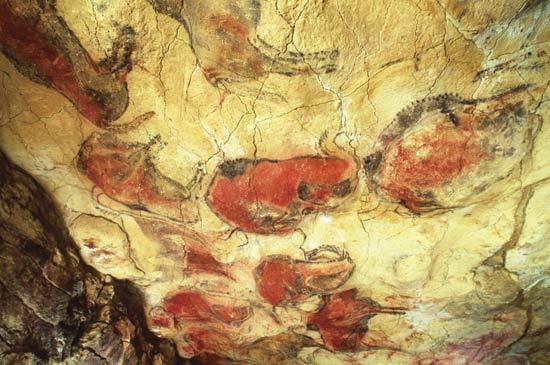 The famous Altamira Cave Bulls