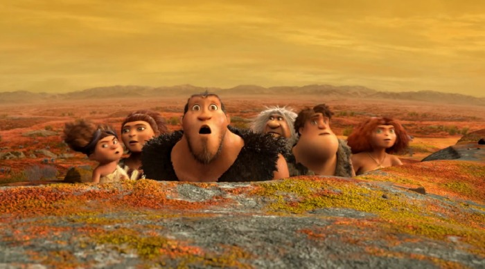 The brood of the croods discover a new world beyond caves.