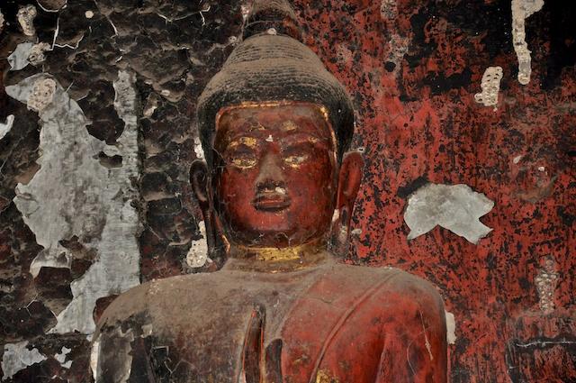 Angry Buddha?