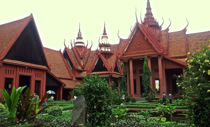 The astonishingly good National Museum in Phnom Penh