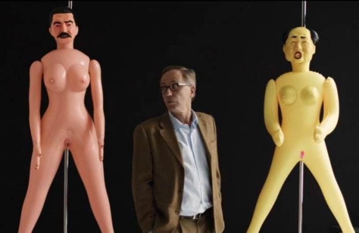 Germaine at his wife art gallery.