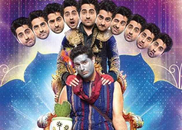 Ayushmaan plays Ravan on stage and Krishna in real life but his name is Ram.