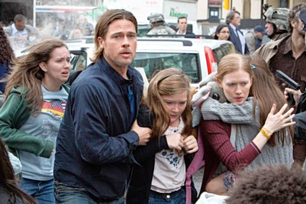 Brad Pitt saves his family and the world!