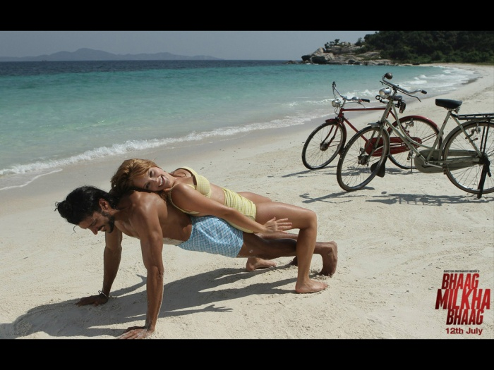 "When Milkha Singh releases his autobiography in August 2013 titled ""The Race of my Life"" I will be looking for mention of these push ups he did in Australia."