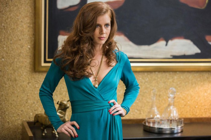 Amy Adams owns the screen in scintillating performance.