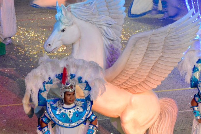 In the year of the horse Pegasus is invited too.