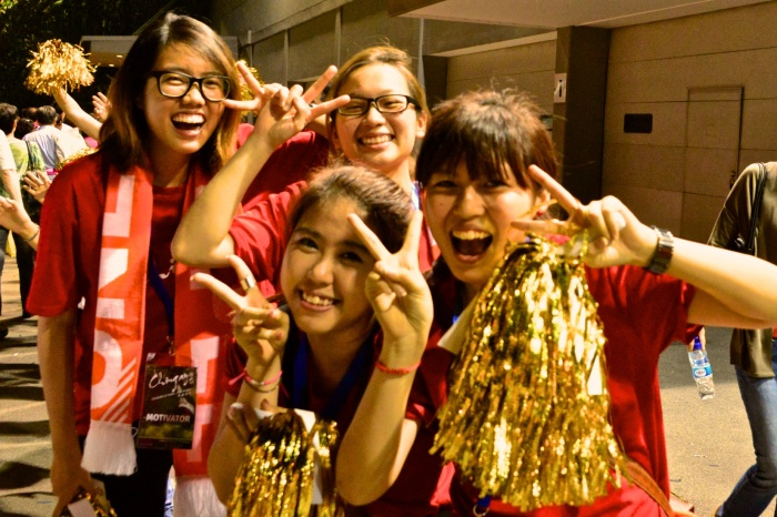 And a cheerful goodbye from the wonderful Chingay team!!