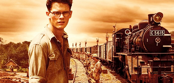 The young Eric Lomax who shines a light on the human sacrifices involved in constructing a railroad.