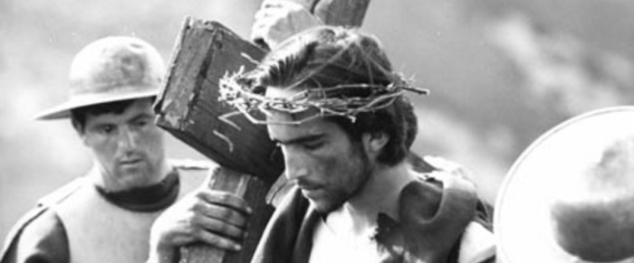 A still from Pasolini's Biblical  masterpiece