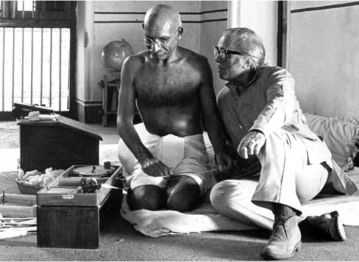 A film director as a true Gandhian!