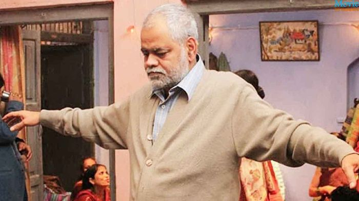 Sanjay Mishra is completely disarming as Bauji