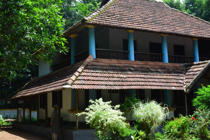 The House where Adoor was born and parts of Kathapurusham were filmed.