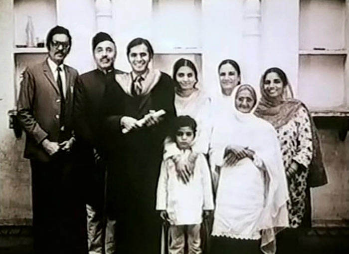 The Mirza Family, in transition.